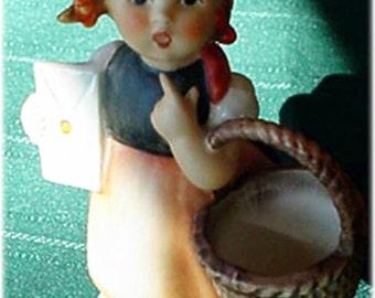 Hummel Goebel Girl Figurine Meditation 13/2/0 TMK4