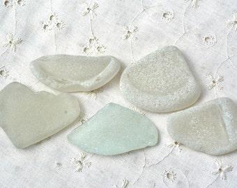 Sea Glass. Genuine Sea Glass. Big White Sea Foam Sea Glass. Frosted Sea Glass for Hobby,Arts,Crafts,Jewelry etc. Mediterranean Sea Glass