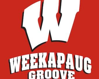 Phish Weekapaug Groove Wisconsin Badgers T-shirt