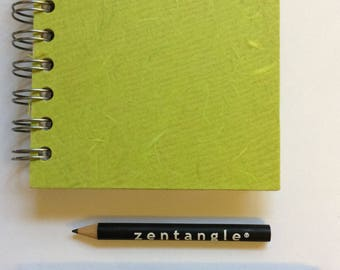 1 mini 4x4inch sketchbook kit - white