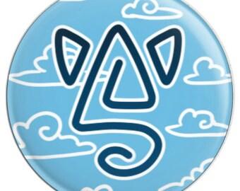 Badge Logo DeltaCat (25mm)