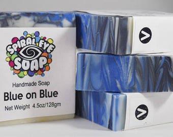 Blue on Blue - Handmade Soap