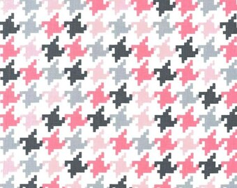 Bloom Houndstooth for Michael Miller, 1/2 yard