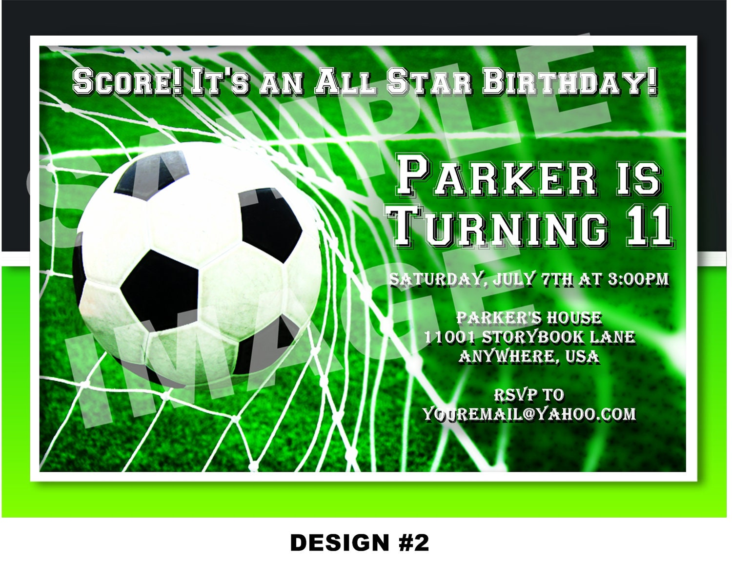 Soccer invitation sports invitation all star party zoom filmwisefo Image collections