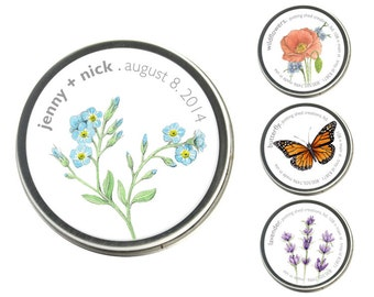 Garden Sprinkles Seed Collection Organic Wedding Favors – Includes Set-Up Fee and Printing – Bulk order Discount – Growing Gifts