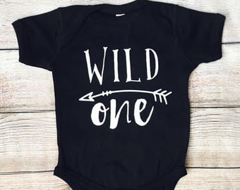 Wild One Infant Bodysuit| Wild One Toddler Shirt