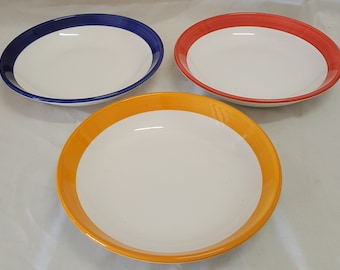"Over and Back Italy 3 Serving Bowls Set 9.5"" x 2.5"""