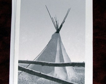 Blank Note Card, Tipi