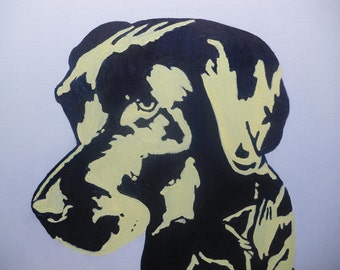 Part 3 Labrador Series - 16x20 Original Oil Painting