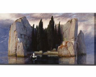 Arnold Bocklin Isle of the Dead Canvas Print Canvas Art Wall Decor Wall Art Print Ready To Hang