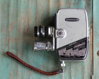 Yashica 8mm  Camera, Vintage Yashica Camera, 8mm Camera, Retro Collectible, Vintage Film Camera,