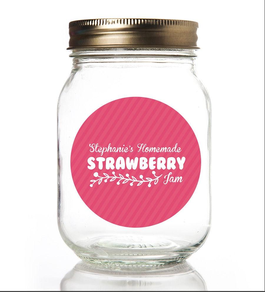 Canning Labels Jam Jar Labels Personalized Homemade Jar