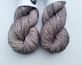 Journey Worsted in Overcast by Skeinny Dipping Yarn