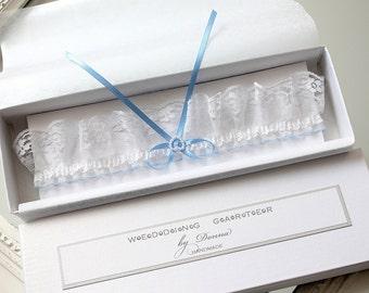 blue wedding garter, blue lace garter, something blue wedding garter, something blue for bride, something blue garter, blue plus size garter