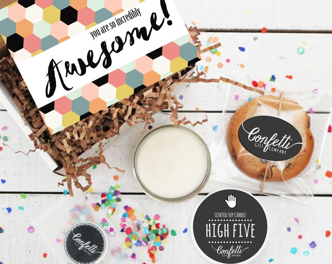 Mini You Are So Incredibly Awesome Gift Box - Congratulations Gift   Thank You Gift   Best Friend Gift   Celebration Gift   Friend Gift