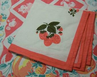 sweet colors linen napkin