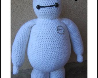 Crochet Pattern - Baymax from Big Hero 6