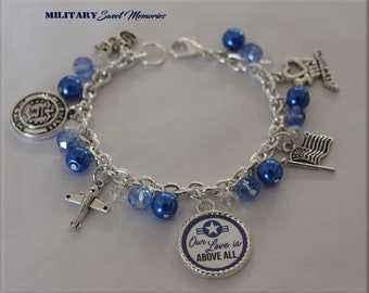 Air Force Wife Bracelet