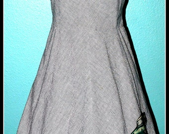 Vintage Rockabilly Hot Rod Dress ...Size M