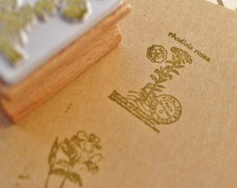 Flower stamp, inch in size