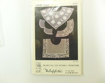 Polish Lace Collars Pattern, Sewing, The Crafty Critter #230