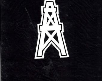 Oilfield derrick car/truck decal sticker 0 197