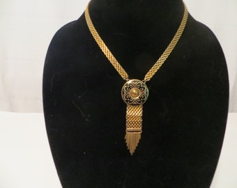 Egyptian Style Chain Link Necklace