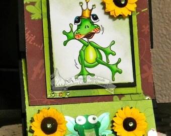 2213 Frog Prince Digi Stamp