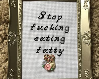 Offensive Cross Stitch Frame