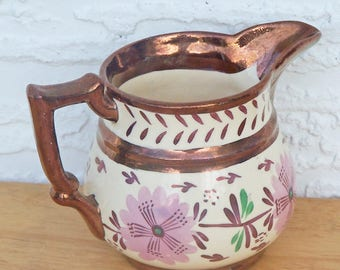 Copper Lustre Creamer