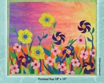 Garden of Eden - A Fused Art Quilt Pattern By Laura Wasilowski