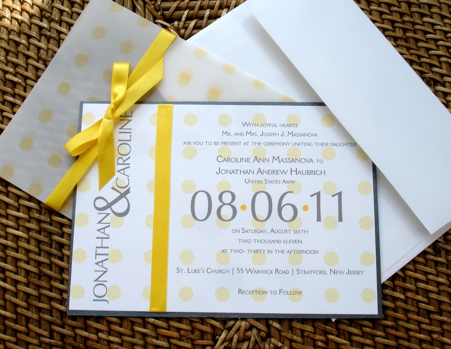 Unique Wedding Invitation Wording: Yellow Wedding Invitation Unique Wedding Invitations Fun