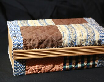 Fabric & Wood Box