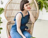 She's a Frill Seeker Jumpsuit - Only 6 made - Handmade by Alice!