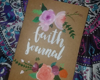 Custom Painted Notebook