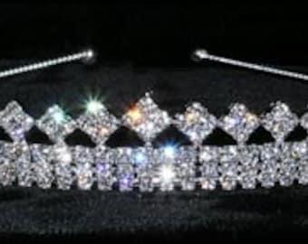 Style # 15064 - Diamond Topper Tiara