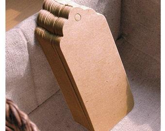 45x95mm Handmade Kraft Gift Tags (TAG02)