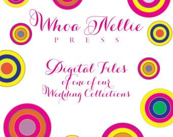 Wedding Invitations - Digital Files - Balance