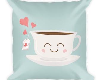 Happy Tea Pillow