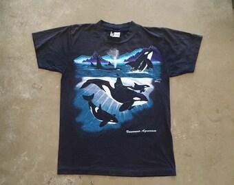 KILLER WHALE - vancouver aquarium tee