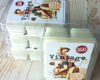 Melts (4) // Sandalwood+Patchouli // 'Wild West' Pure Soy Flameless Melts // Wholesale Melts