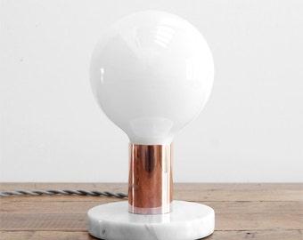 Modern Table Lamp   Mid Century Table Lamp   Marble Table Lamp   Modern  Desk Lamp