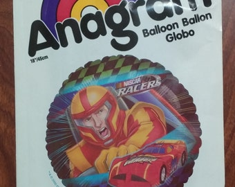 "18"" NASCAR Mylar Foil Balloon Racing"