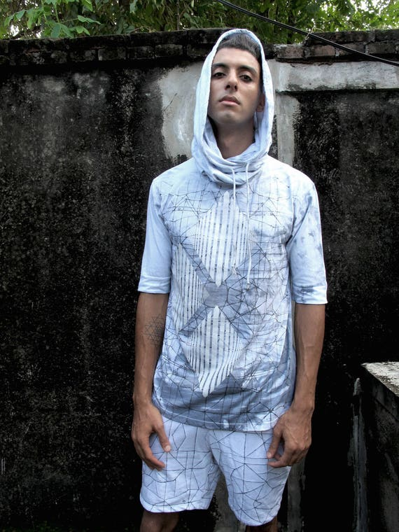 for Man Top Outfit Hoody Boho Pullover Hoodie Burning Hoodie Man Man Hoody Summer Fashion Wear Hoody Fashion Grey Top Urban Man Men 50p6Yxn