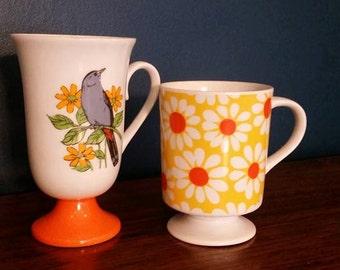 Sale - Mod tea cups