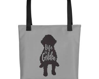 Goldendoodle Tote bag dog mom tote