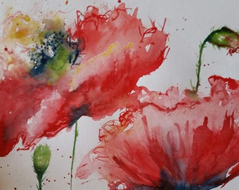 Original Red Poppies