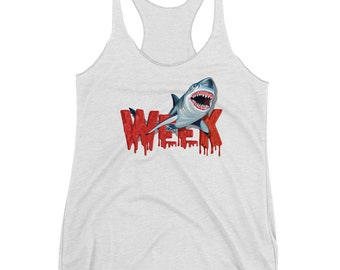 Week of the Shark Women's Racerback Tank