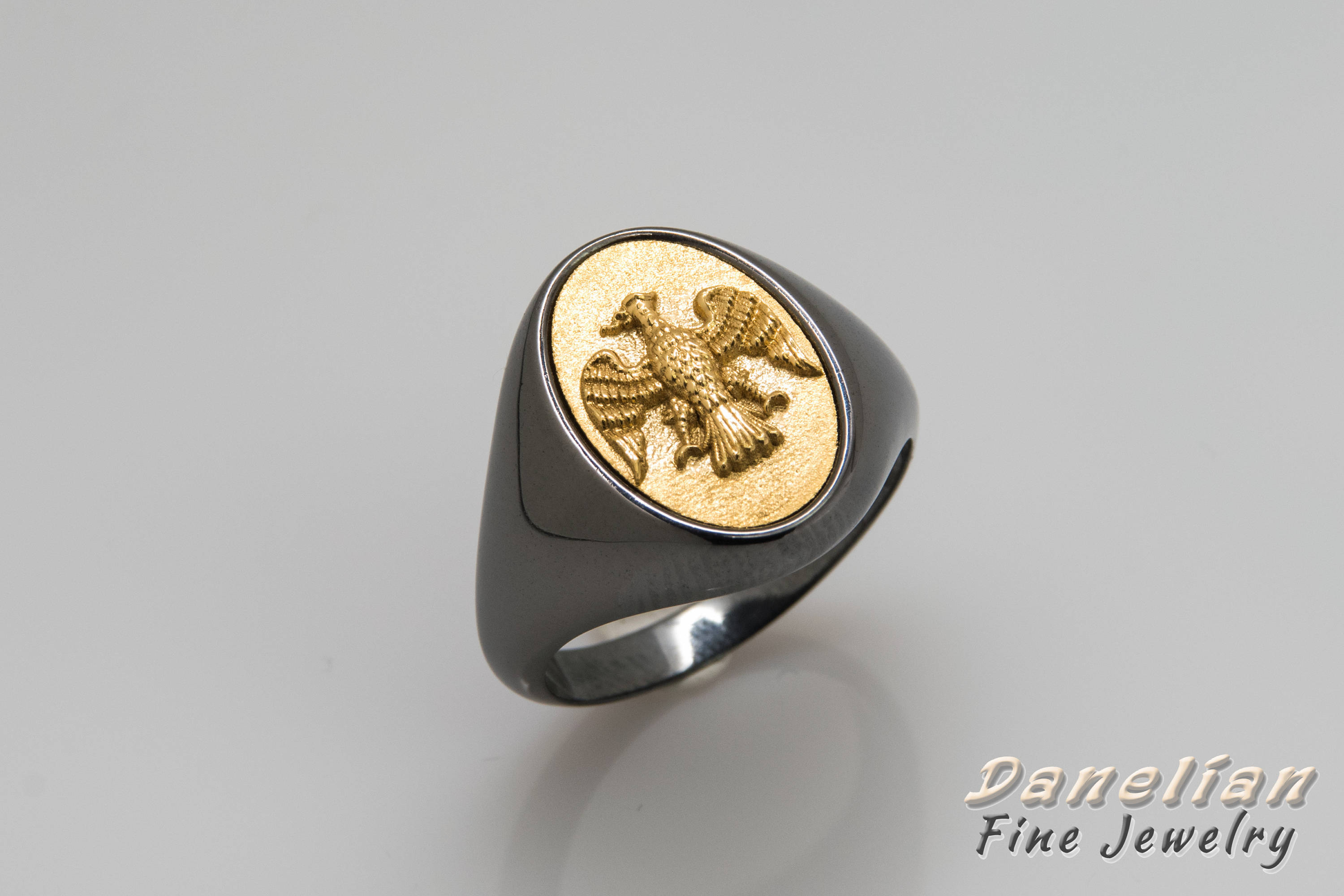 solid mens buy crafted personalized custom or rings hand men gold for brass made by initial signet crest a ring crazyassjewelry