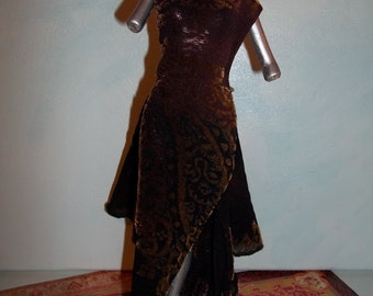 Barbie Bronze Evening Gown